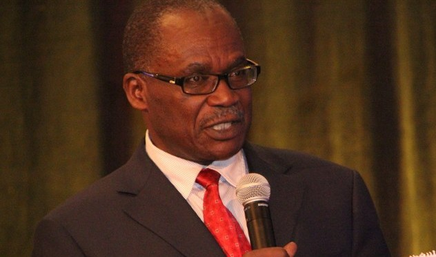 Minister of Labor, gender, and Youth affairs Wilson Muruli Mukasa