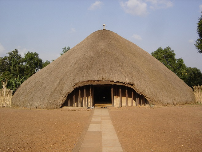 exterior view of The Kasubi Royal Tombs